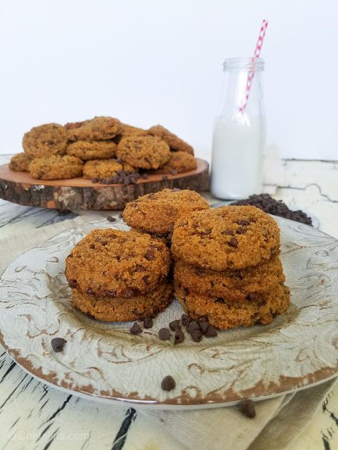 Paleo Almond Coconut Chocolate Chip Cookies