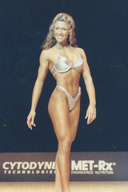Alina on ESPN Fitness America 1999