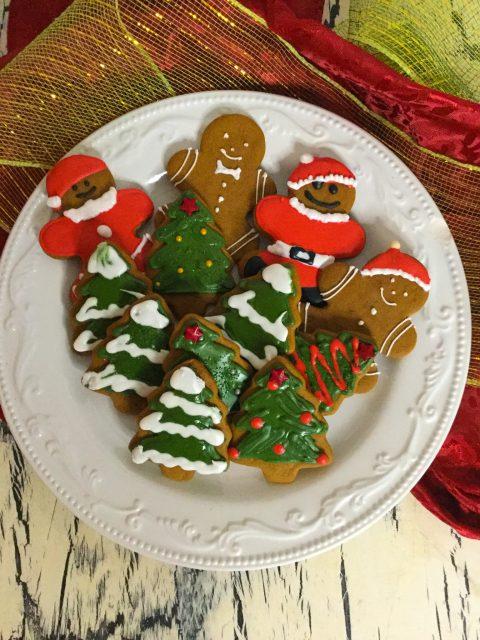 Rolled Gingerbread Cookies