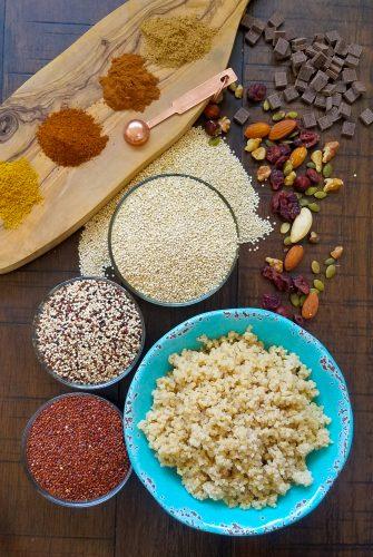 Cooking basic quinoa