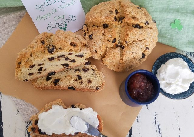 Irish Soda Bread with Raisins & Caraway