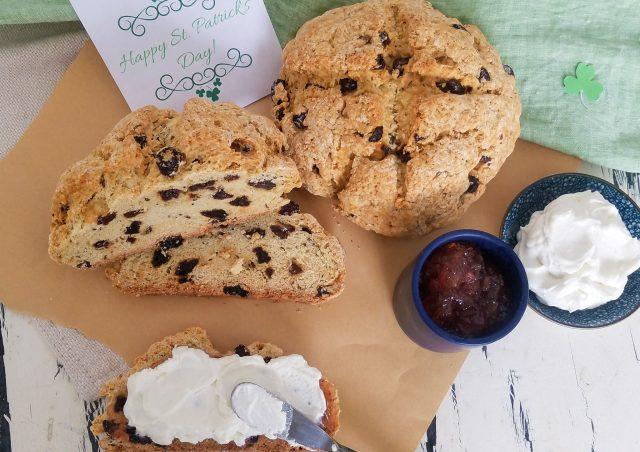 Irish Soda Bread with Raisins & Caraway