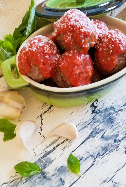 Paleo Meatballs with Sauce