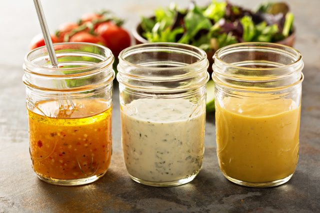 Healthy Homemade Salad Dressing