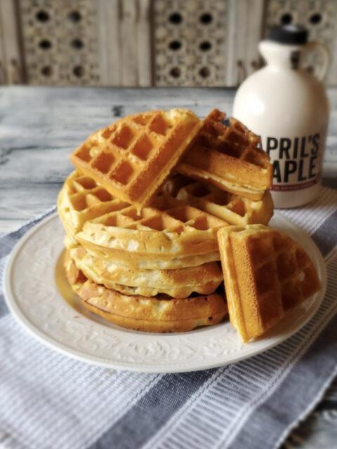 Gluten Free Belgium Style Waffles